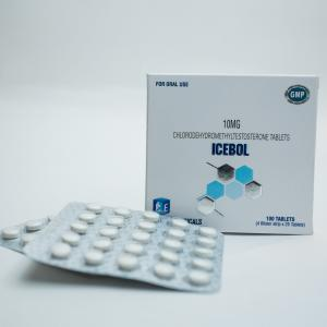 Ice Bol Turanabol - 4-Chlorodehydromethyltestosterone - Ice Pharmaceuticals
