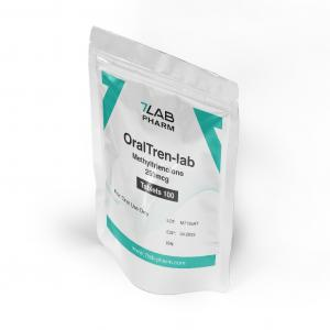 OralTren-lab - Methyltrienolone - 7Lab Pharma, Switzerland