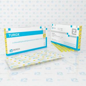 Turox - 4-Chlorodehydromethyltestosterone - Zerox Pharmaceuticals